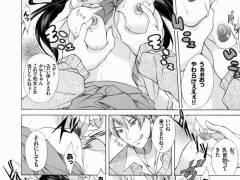 【エロ漫画】初めてなのに寝取られと二穴挿しまで経験してしまった巨乳JKwww