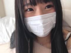【J○個撮放-尿&中出し】3連射精&お漏らしでシーツはびちょ濡れ!
