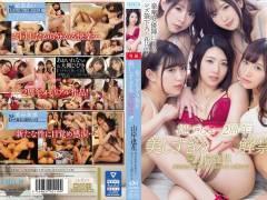 pornhub動画【山岸逢花・星奈あい】人気女優5人が織りなす豪華レズ映像