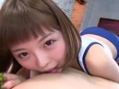 【水鳥文乃】ベビーフェイスで爽やかなショートカット美少女がパコられアヘりまくる!