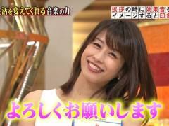 加藤綾子アナのノースリーブエロわき。