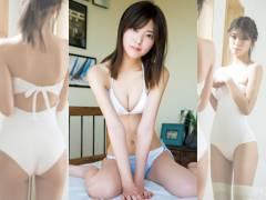 美脚&美尻な戦隊ヒロイン工藤美桜の初水着グラビア