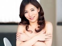 【初撮り熟女】スレンダーで貧乳のアラフォー妻とローションSEX! 君嶋さくら