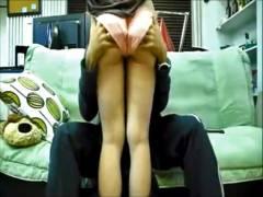 【無】【個人撮影】彼女が大股開いて巨根咥え込む卑猥なマンコ丸見え篇!!