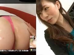 山口真帆系スレンダー美人AV女優の本多由奈さんが誘惑OLでまほほんフェラ