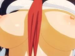 真面目な委員長だけど身体はエッチ過ぎる!いつも勉強している教室で処女喪失セックス!(3DCGアニメ)