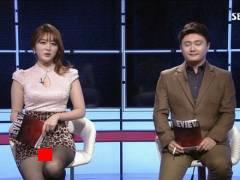 【ほぼホステス】AV禁止のお隣韓国、ニュース番組の女子アナスカートがキャバ嬢レベルでワロタwwwwwww(画像あり)