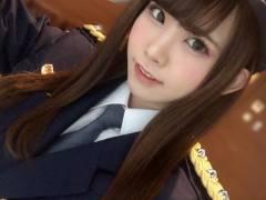 カリスマコスプレイヤー・えなこ(23)、千葉の幕張で一日警察署長を務める