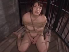 【七草ちとせ】緊縛監禁されイラマチオされる為だけに生きている爆乳ドM女