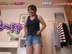 磯山さやか(35)、再現ドラマでムチムチおっぱい透け & 乳首を挟まれる!!