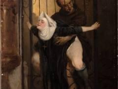 【画像】中世の修道女さん、太ももがエロすぎる