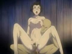 【エロアニメ】 快楽を刺激するツボに針刺されて愛液垂れ流しながら夢中で腰振るメガネッ娘