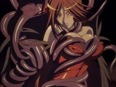 【規制解除】魔女やエルフが触手の化物に襲われて凌辱される!(クイーンズブレイド)