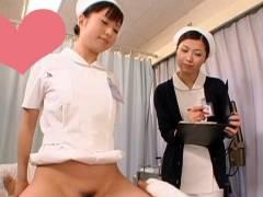 看護師が患者に跨る病院【工藤れいか 加藤ツバキ ふわり 成瀬心美】