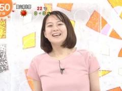 フジ永尾亜子アナ、パッツパツになってる胸元。