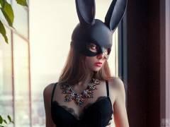 海外のセクシーなバニーガールのエロ画像