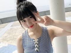 HKT48田中美久さん、またもおっぱいを見せつける服を着てしまう。