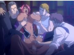 【ヒロインSMエロアニメ】奴隷娼婦に堕ちる魔界騎士と対魔忍