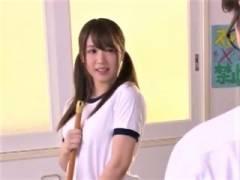 【渚ひかり】くぅ~可愛い~ こんな色白デカパイ娘がぶっかけられちゃう 体操服似合いすぎだろ~