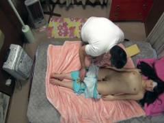 姫川ゆうな 寝ている間にお父さんに悪戯されちゃう未成熟ちっぱいロリ娘