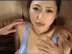 【壇蜜】現役芸能人がヌルヌルマッサージでオルガスムスに達する!