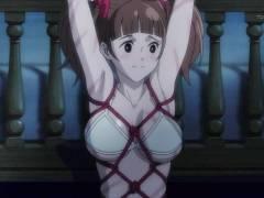 【Cutie Honey Universe】寮長が門限を破った女生徒を亀甲縛りで鞭打ち折檻!?