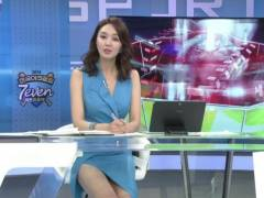 【韓国エロ】隣国の女子アナさん、日本の3倍露出が多めやったwwwwwww(GIFあり)