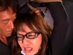 美智子小夜曲 凌辱されて真価発揮する女なので,緊縛拘束してオ○ンコ攻め。