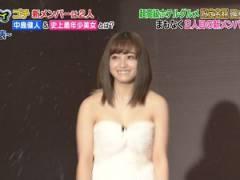 橋本環奈おっぱいが強調したエロ衣装で「ぐるナイ ゴチ開幕!新メンバー」に登場してまたオカズにされる