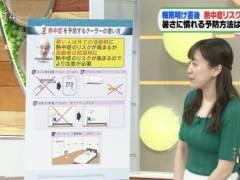 江藤愛アナがピチピチニットでムチムチおっぱいの形がくっきりの着衣巨乳キャプ!TBS女子アナ