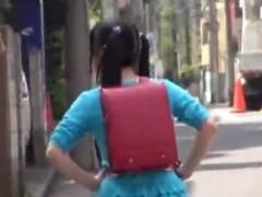 【JS】狙われた○学生…犯罪者に自宅侵入されてレイプされる
