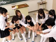 跡見しゅり 早川瑞希 実習先美少女JKと王様ゲーム!キスやポッキーゲームだんだん命令が過激に