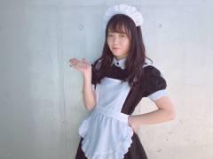 【画像】西川怜ちゃんのメイドコスプレが可愛すぎるwwwwwww