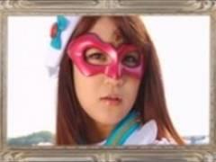 美女魔法戦士の愛音まひろが勇敢に悪と戦い…捕まって卑猥なことされてる。