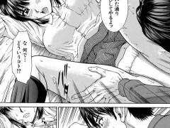 【エロ漫画】彼女にフラれてむしゃくしゃしながら部屋でAVを見てたらクソ生意気なJK妹が嫌味を言ってきたので、無理やり襲って処女を奪ったった!