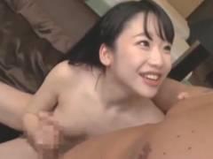 姫川ゆうな 『お顔見ながら挿れて欲しい♪』チンポをしごきつつおねだりするロリ美少女と濃厚種付けセックス!
