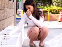 【寝取られ】松本メイ 潔癖症の人妻が一番毛嫌いする路上生活者とセックス
