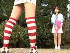 さくら美羽 鈴木千里 ふたなり美女ゴルファーの過激なレズプレイ!