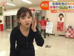 田中瞳アナの前かがみ胸チラおっぱいキャプ!テレビ東京女子アナ