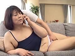山口敦子 わがままボディで無防備な義母の密着に股間を熱くする婿
