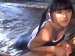 浅川梨奈 巨乳アイドルにスク水着せた結果…エロ画像45枚