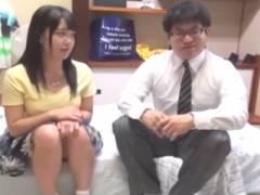 【モニタリング】ガチ素人の女子大生が童貞の男の子と高額謝礼金付き中出しミッションに参加する企画!