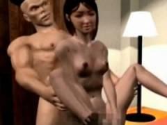【3Dエロアニメ】 願いを叶えるという巨チンの精に便秘治してとお願いしたらアナルに液体注ぎ込まれて脱糞させられる美女 ※スカトロ注意