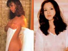 坂口良子ヌード画像85枚!若い頃の坂口杏里ママが貧乳おっぱいの乳首透けててエロい!