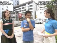 SKE須田亜香里(27)が浜田の横で巨乳アピール