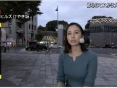 森川夕貴アナのムチムチおっぱいの形がくっきりの着衣巨乳とキス顔キャプ!テレビ朝日女子アナ
