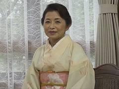 遠田恵未 和服の似合う還暦熟女が巨乳をタプタプ揺らして助平な性交!