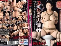 【桐島美奈子】マダム緊縛肉便器 ドマゾな人妻を緊縛&追ピス孕ませ