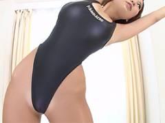 夏希みなみ ボーイッシュ美女がハイレグレオタードで着衣SEX!