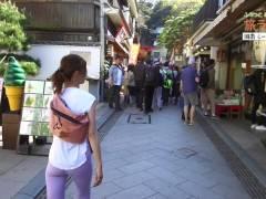【安田美沙子】ずっとパン線がクッキリ見える「旅ラン」とかいうジョギング番組wwwwwww